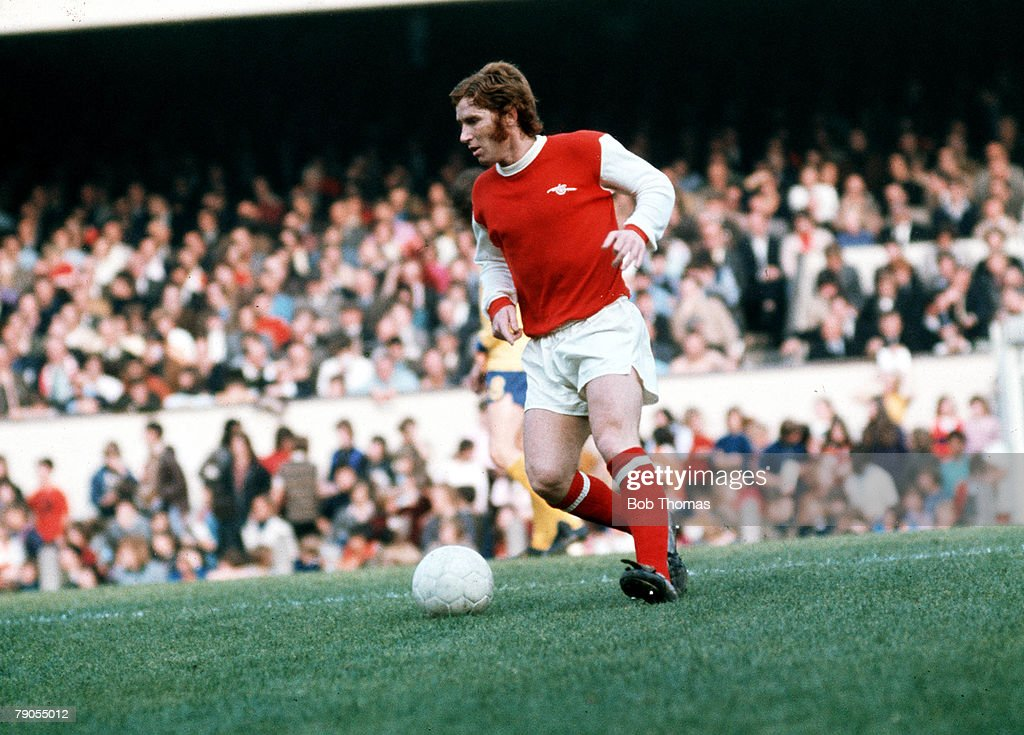 Sport, Football, Alan Ball in action for Arsenal