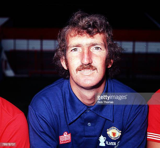 Sport Football Alex Stepney of Manchester United 1977