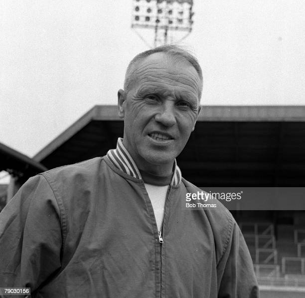 Sport Football Anfield England 1967 Photocall Liverpool FC Manager Bill Shankly