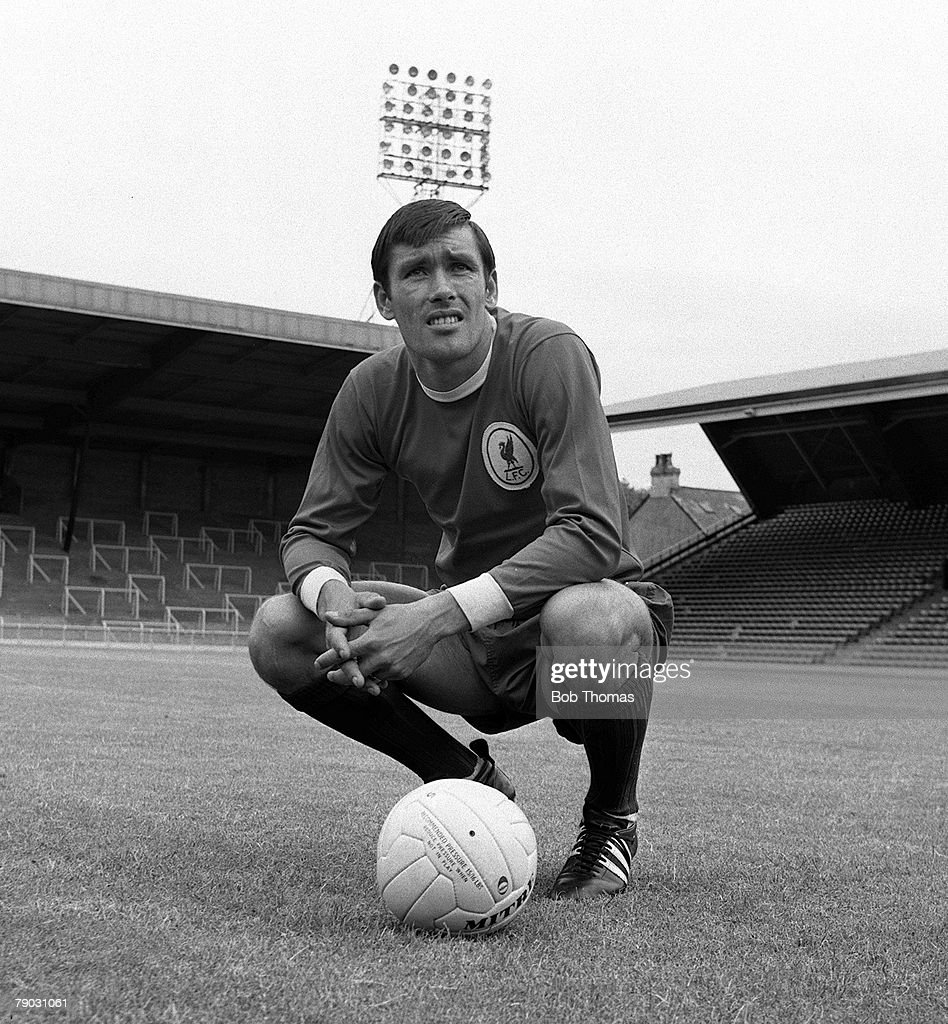 Sport. Football. Anfield, England. 1967 Photocall. Liverpool FC's Tony Hateley. : News Photo