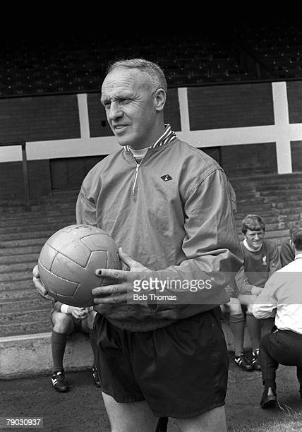 Sport Football Anfield England Circa 1970 Liverpool FC Manager Bill Shankly