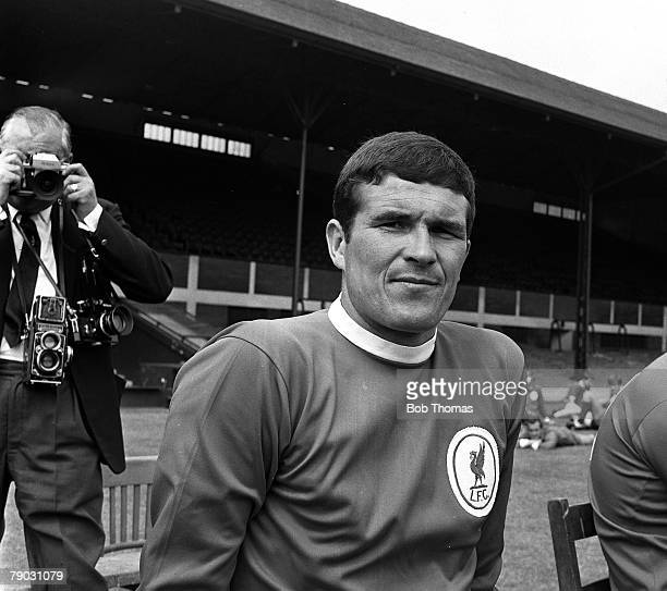 Sport Football Anfield England Photocall Liverpool FC's Ron Yeats