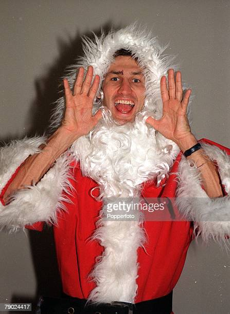 Sport Football Arsenal captain Tony Adams is pictured dressed as Father Christmas