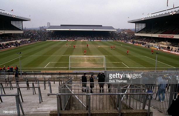 circa 1980's Arsenal's Highbury Stadium