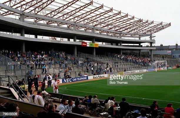 circa 1980'sArsenal's Highbury Stadium showing the South Stand under construction