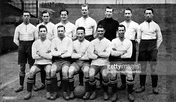 Sport Football Bolton Wanderers FC Back row LR Nuttall Howarth Rowley Seddon Pym Jennings Finney Front row LR Butler Jack JRSmith Joe Smith Vizard...