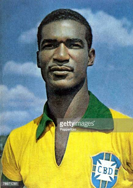 Sport Football Brazil's Didi who played in 3 World Cups for his country 1954 1958 and 1962 and was a member of the World Cup winning sides that were...
