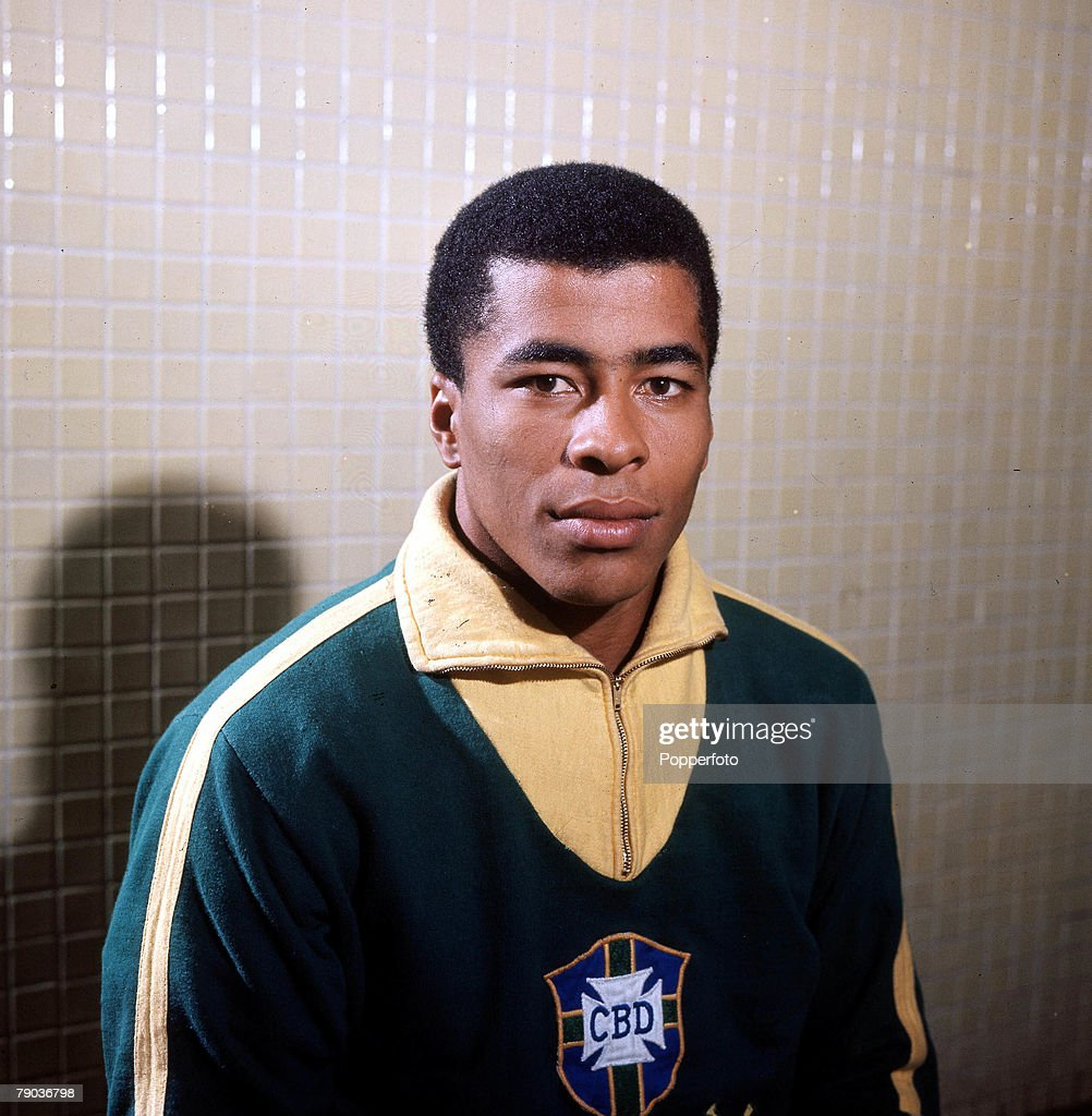 Sport, Football, Brazil's Jairzinho, one of the stars of the victorious Brazil team of the 1970 World Cup Finals in Mexico