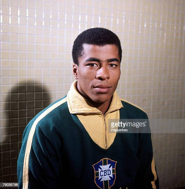 Sport Football Brazil's Jairzinho one of the stars of the victorious Brazil team of the 1970 World Cup Finals in Mexico