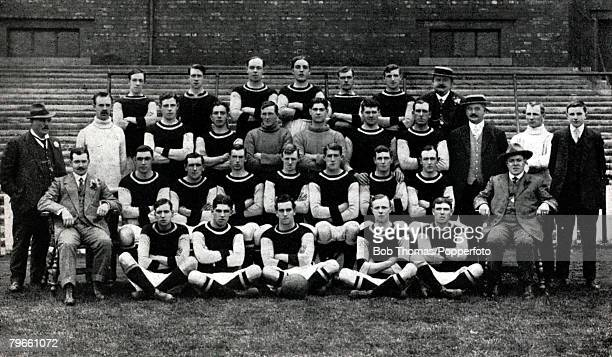 Sport Football Burnley FC 19131914 Burnley were the 1914 FACup winners and the winning team was Sewell Bamford TaylorHalley Boyle Watson Nesbitt...