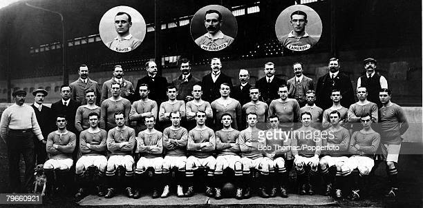 Sport Football Chelsea FC 19071908 Back row LR HPalmer JTMears GSchomberg HBoyer JHMaltby TL Kinton EHJanes FWParker HAMears EHankers Middle row LR...