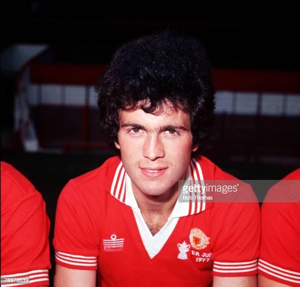 Sport, Football, Chris McGrath of Manchester United,Circa, 1977