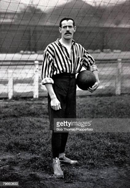 Sport Football circa 1895 Harry Storer Woolwich Arsenal goalkeeper
