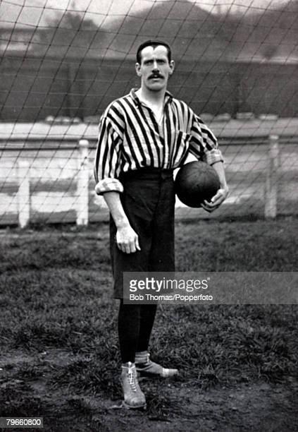 Sport, Football, circa 1895, Harry Storer, Woolwich Arsenal goalkeeper