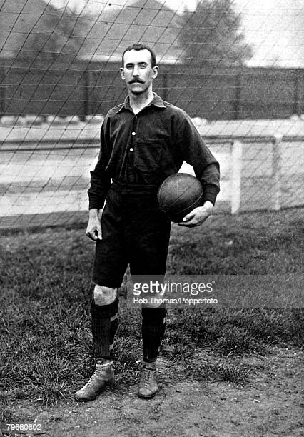 Sport Football circa 1895 RBuchanan Woolwich Arsenal a forward player with a good shot in both feet
