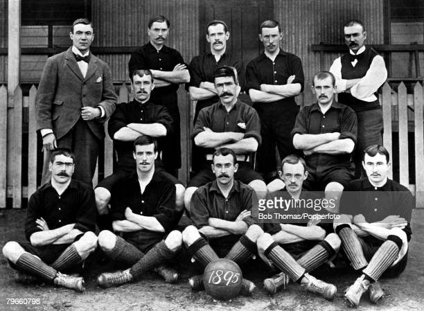 Sport Football circa 1895 Woolwich Arsenal FC along with Millwall Athletic the best team in the South of England