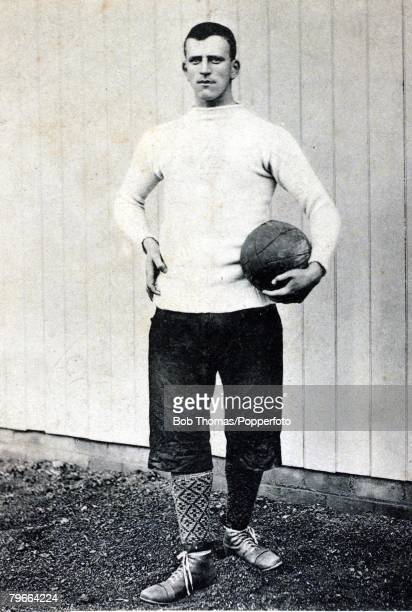 Sport Football Circa 1898 Billy Foulke Sheffield United's massive goalkeeper who just once played for England