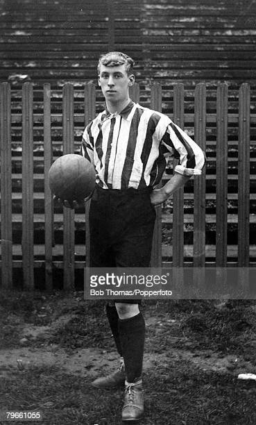 Sport Football circa 1902 ABrown Southampton scorer of the Southampton goal in the 1902 FACup Final replay when they lost 21 to Sheffield United