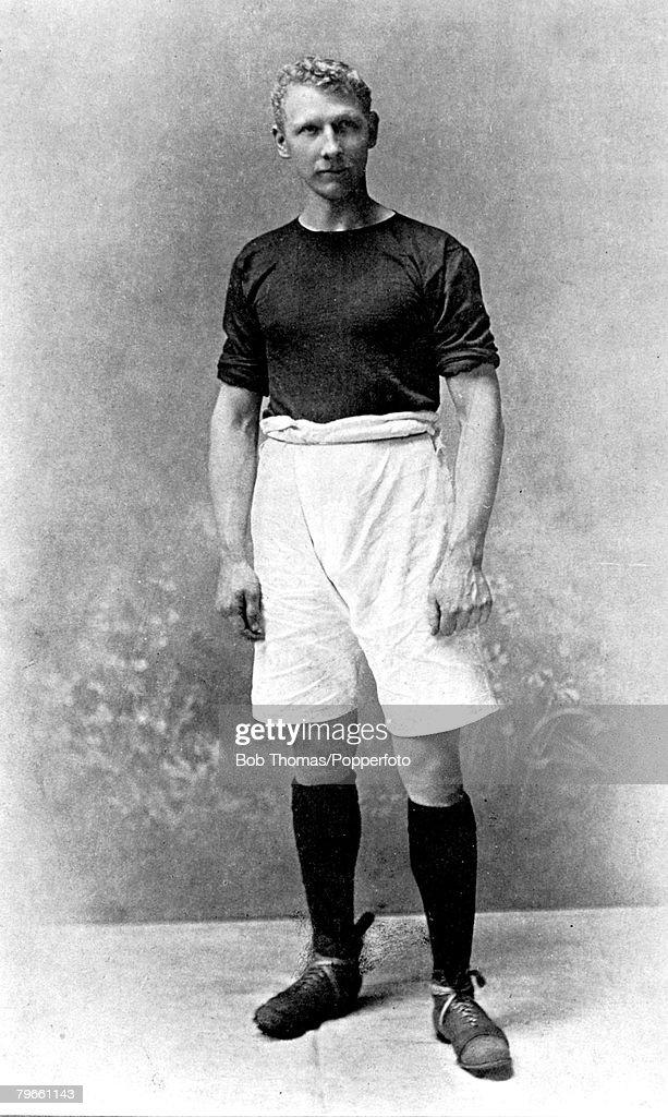 Sport, Football, circa 1905, A portrait of J,Jackson of West Ham United : News Photo