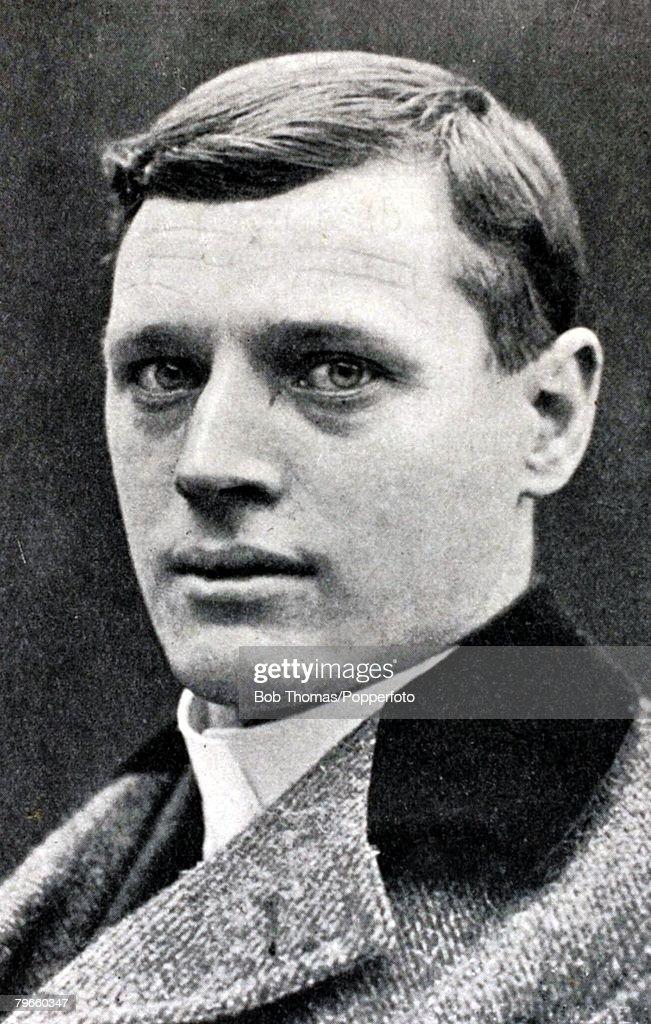 Sport, Football, circa 1905, A portrait of John Cameron of Tottenham Hotspur : News Photo