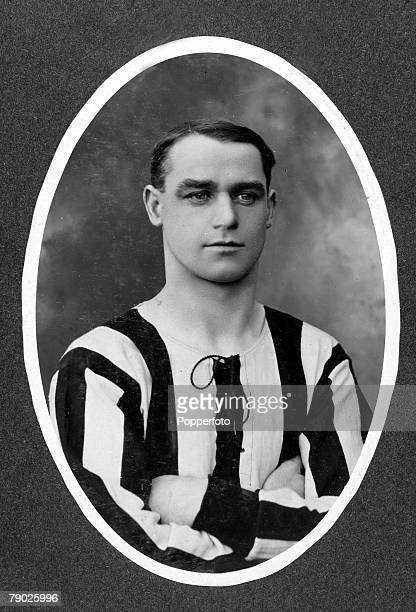 Sport Football circa 1906 Andrew Aitken Newcastle United One of the early game's most prominent players a Scottish international half back he played...