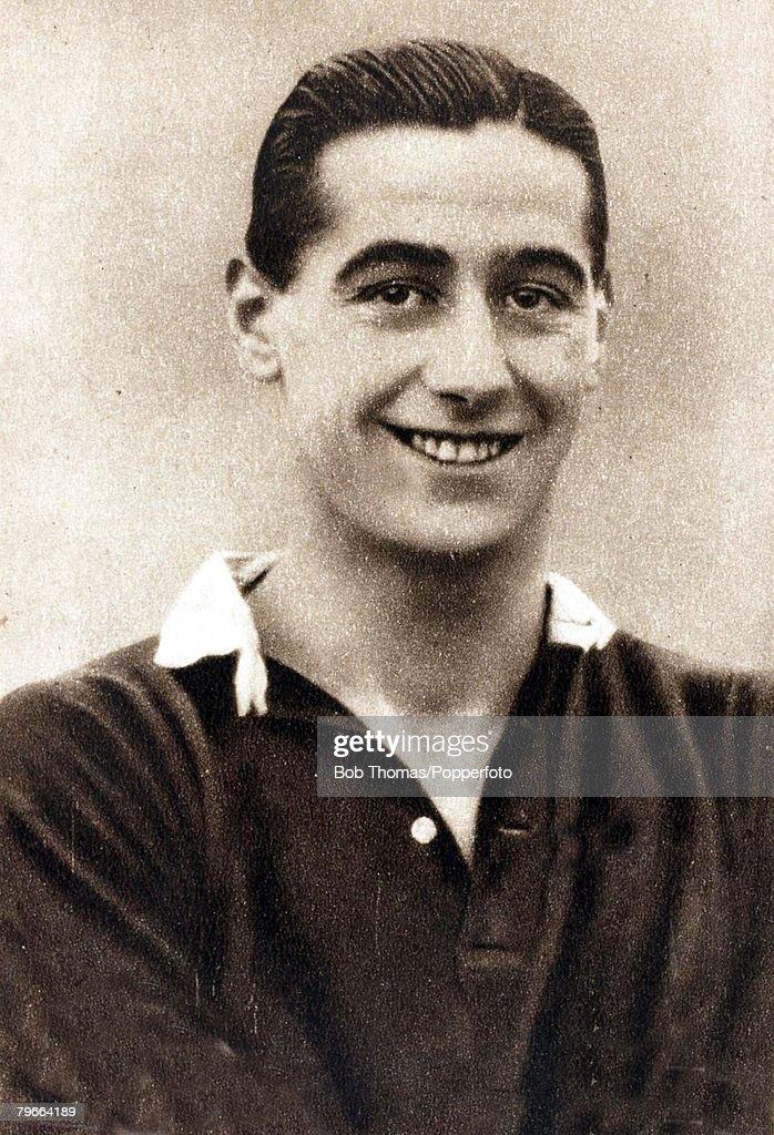 Sport, Football, Circa 1937, Tommy Walker, Hearts and Scotland : News Photo