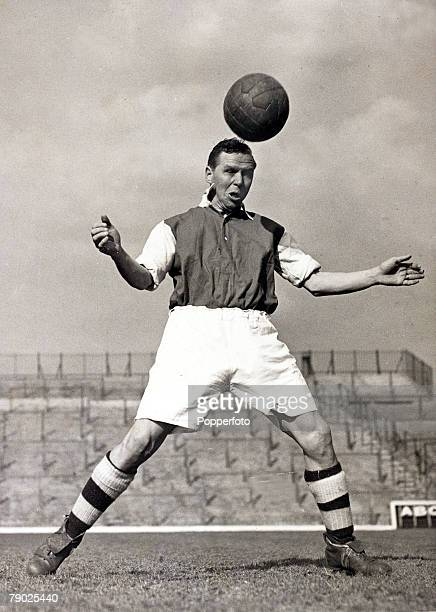 Sport Football circa 1948 Laurie Scott Arsenal who played for the club from 19461951