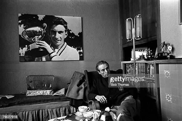 Sport Football Circa 1970 Stanley Matthews at home