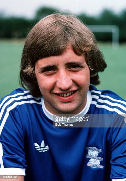 Sport Football Circa 1970's A portrait of Birmingham City's Jimmy Calderwood
