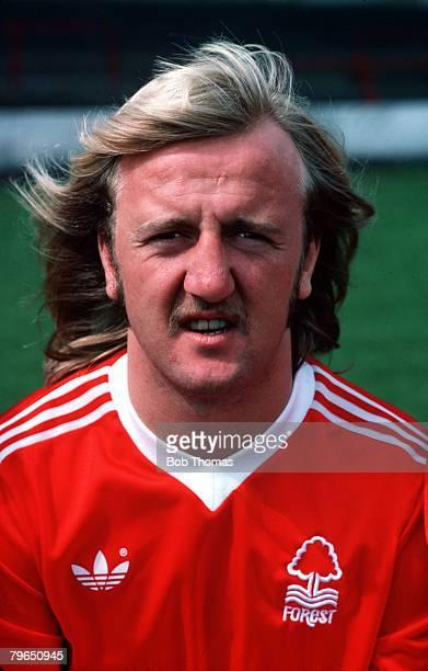 Sport Football Circa 1970's A portrait of Nottingham Forest's Kenny Burns