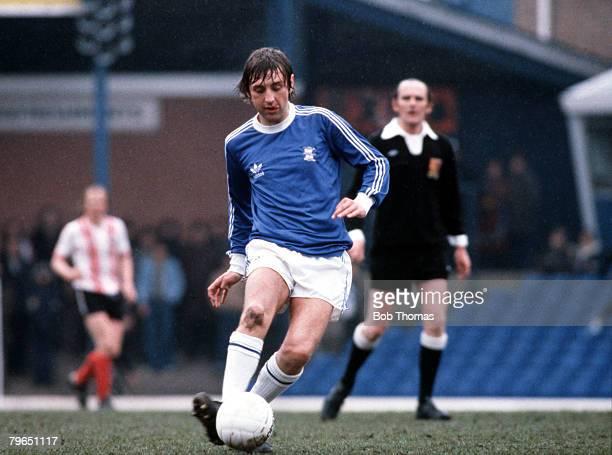 Sport Football Circa 1970's Birmingham City's Jimmy Calderwood