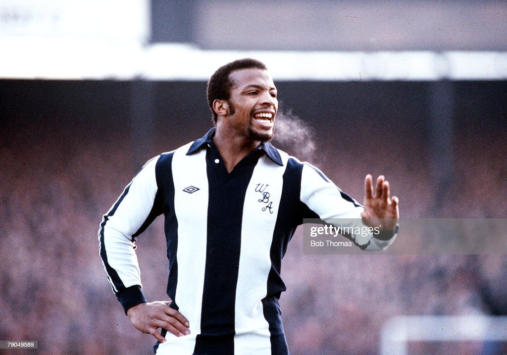 Sport. Football. Circa 1980. Cyrille Regis of West Bromwich Albion. : News Photo