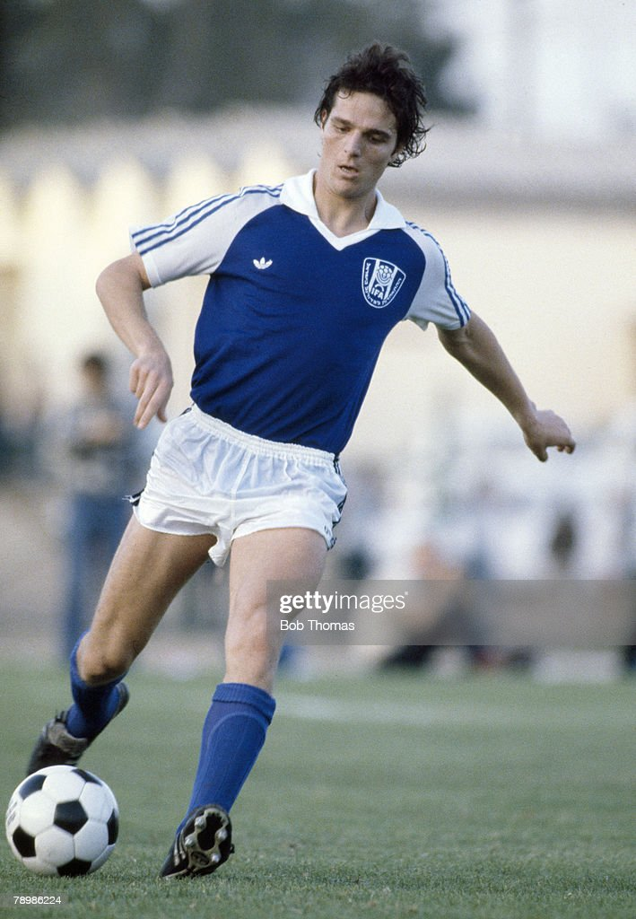 Sport Football. Circa 1980's. Avi Cohen of Irsrael. : News Photo