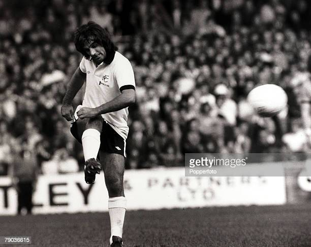 Sport Football Craven Cottage London England 12th September 1976 League Division Two Fulham 0 v Wolverhampton Wanderers 0 Fulham's George Best in...