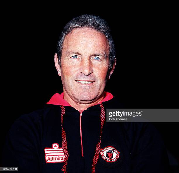 Sport Football Dave Sexton the Manchester United Manager Circa 1979