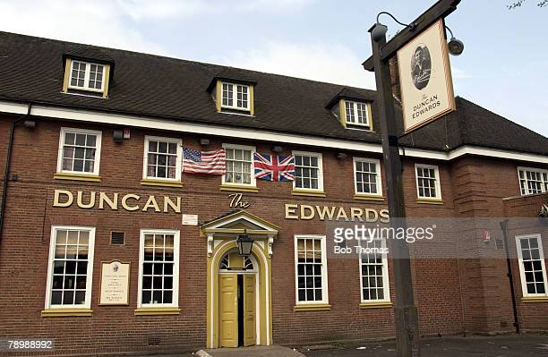 Sport Football Dudley Former Manchester United and England legend Duncan Edwards has had a pub named after him Duncan Edwards suffered fatal injuries...
