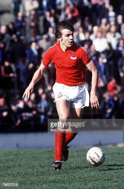 Sport Football England 1970's Sam Allardyce of Bolton Wanderers