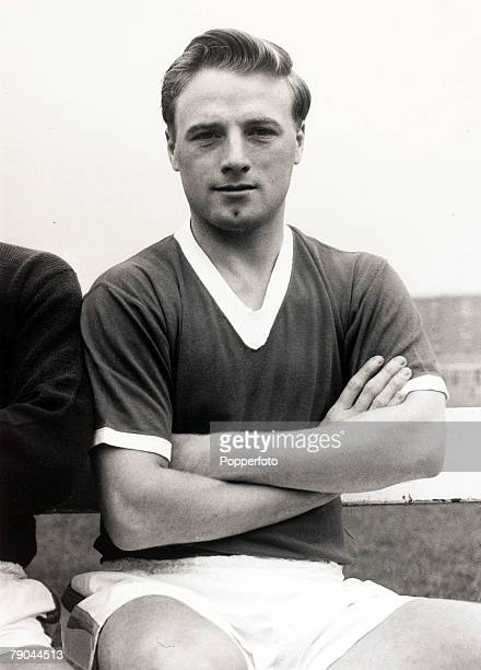 Sport Football England 4th August 1960 Albert Scanlon Manchester United who made 127 appearances for the club 19541961 He was a survivor of the...