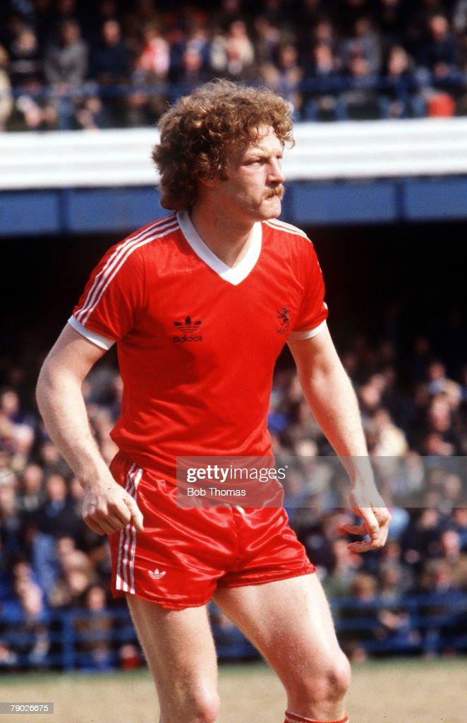 Sport. Football. England. Circa 1980. Middlesbrough's Billy Ashcroft. : News Photo