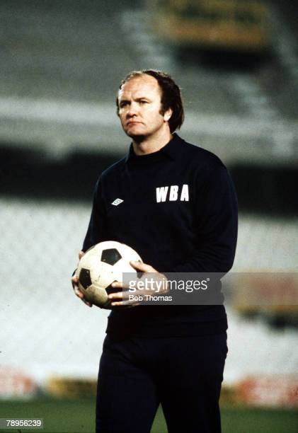 Sport Football England Circa 1980 West Bromwich Albion Manager Ron Atkinson