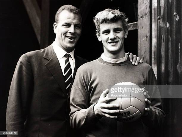 Sport Football England July 1970 Leeds United legend and former Wales international John Charles pictured at Elland Road with the Leeds United and...