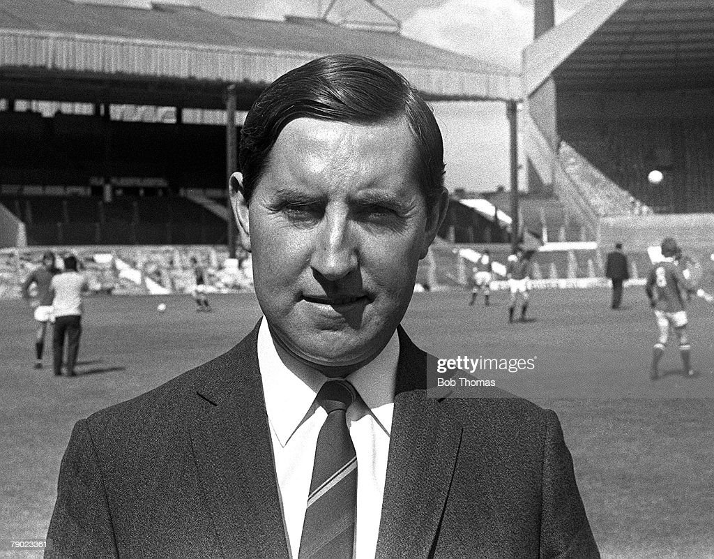 Sport. Football. England. 1971. Manchester United Manager Frank O'Farrell. : News Photo