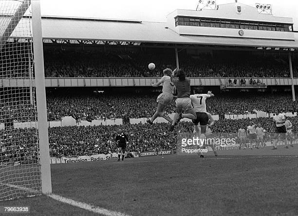 Sport Football English League Division One London England 1st September 1973 Tottenham Hotspur 0 v Leeds United 3 Leeds goalkeeper David Harvey...