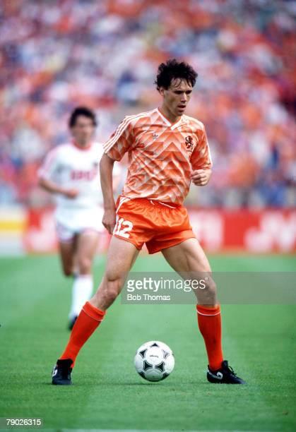 Sport Football European Championship Final 23rd June 1988 Munich West Germany Holland 3 v USSR 0 Holland's Marco van Basten