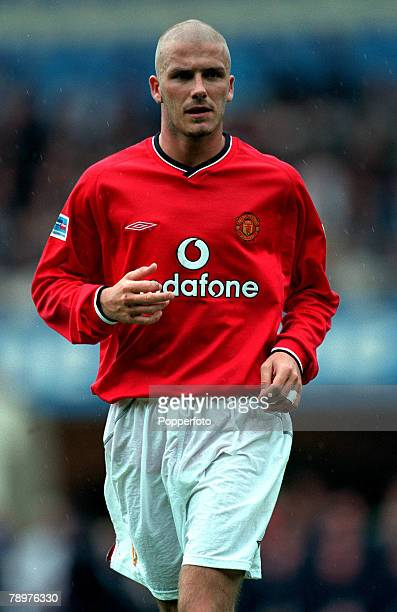 Sport Football FA Charity Shield Wembley13th August Chelsea 2 v Manchester Utd 0David Beckham of Manchester United