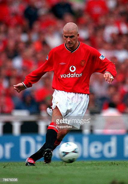 Sport Football FA Charity Shield Wembley13th August Chelsea 2 v Manchester Utd 0David Beckham of Manchester United