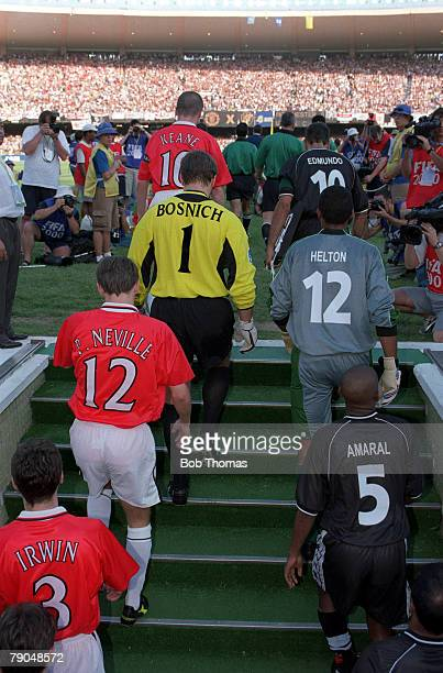 Sport Football FIFA Club World Championships Rio de Janeiro Brazil 8th January 2000 Vasco Da Gama 3 v Manchester United 1 The Manchester United and...