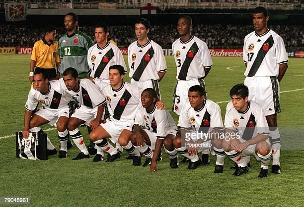 Sport Football FIFA Club World Championships Rio de Janeiro Brazil 6th January 2000 Vasco Da Gama 2 v South Melbourne 0 Vasco Da Gama pose for a team...