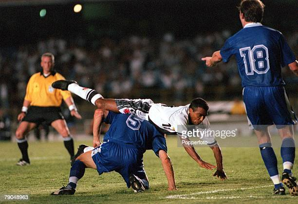 Sport Football FIFA Club World Championships Rio de Janeiro Brazil 6th January 2000 Vasco Da Gama 2 v South Melbourne 0 Vasco Da Gama's Romario in a...