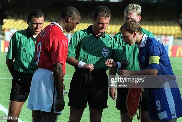 Sport Football FIFA Club World Championships Rio de Janeiro Brazil 11th January 2000 Manchester United 2 v South Melbourne 0 Manchester United...